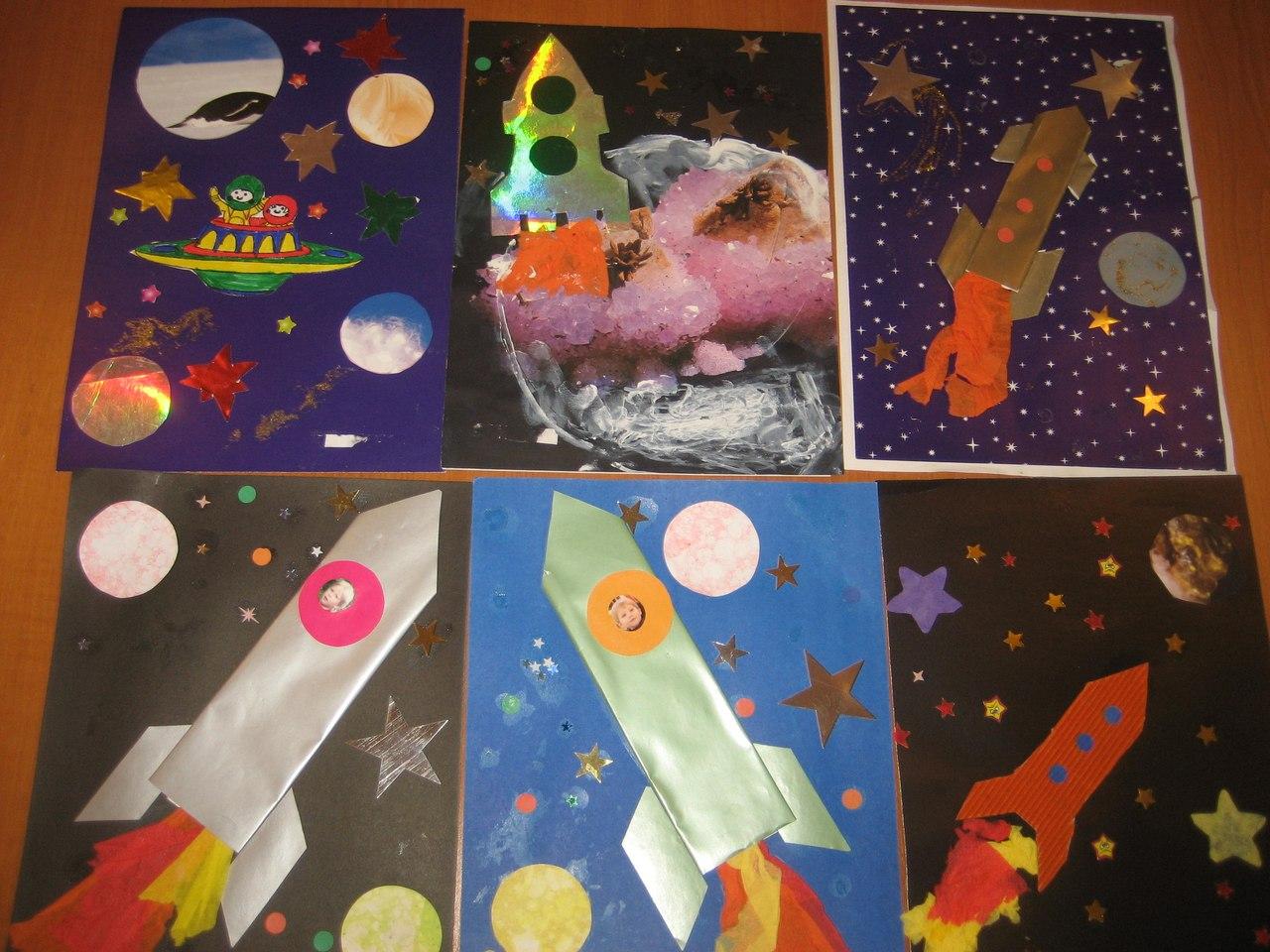 Поделка ко дню космонавтики ракета 295
